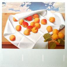 Apricots & Sky Poster