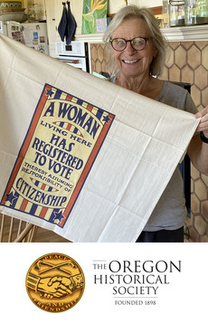 Woman Suffrage Towel