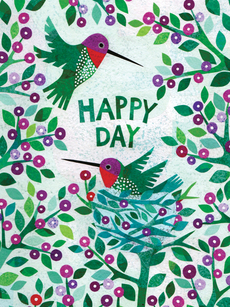 Happy Day Hummingbirds