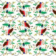 Harper Birds Wrap