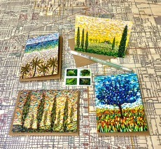 Tall Trees Card Set
