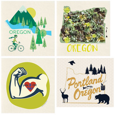 Oregon Swedish Dishcloths