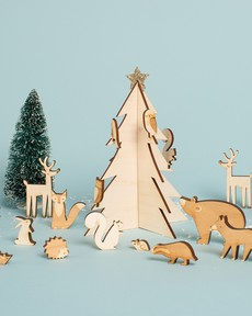 Woodland Creatures Advent Calendar
