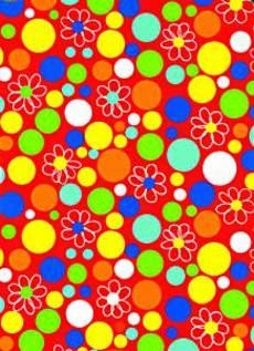 Fresh Dot Red Wrap