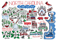 Statescapes: North Carolina