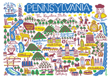 Statescapes: Pennsylvania