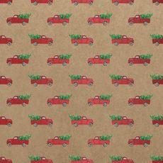 Red Truck Kraft Wrap