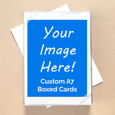 Your Design Here! Custom A7 Boxed Notecards
