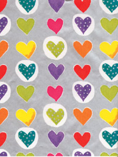 Lola Heart Dots Wrap