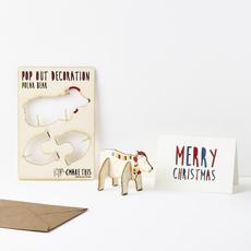 Polar Bear Pop Out Card