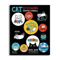 Cattitude Sticker Pack