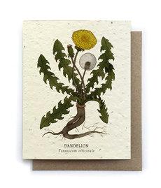 Dandelion Plantable Seed Card