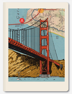 Golden Gate Bridge Notebook