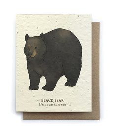 Black Bear Plantable Seed Card
