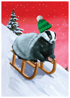 Holiday Badger