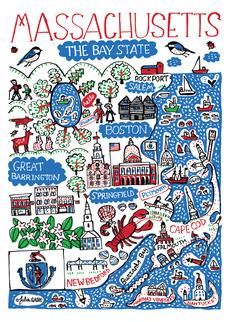Statescapes: Massachusetts