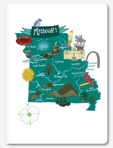 Hello: Missouri Notebook