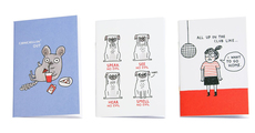 Gemma Correll's The 30s Notebook Trio