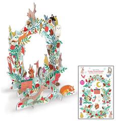Frosty Forest Pop & Slot Advent Calendar
