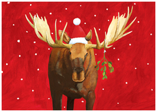 Mistletoe Moose