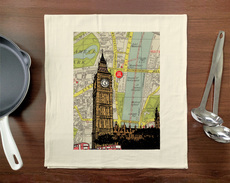 Elizabeth Tower & Big Ben Towel