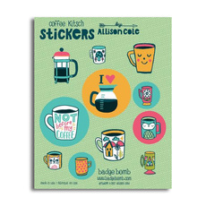 Coffee Kitsch Sticker Pack