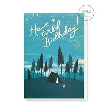 Camping Birthday Card