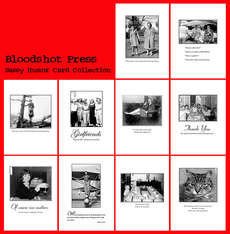 Bloodshot Humor Card Collection