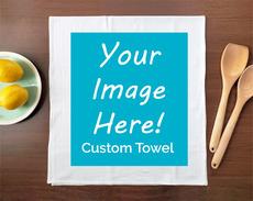 CUSTOM: Put Your Design on a Tea Towel!