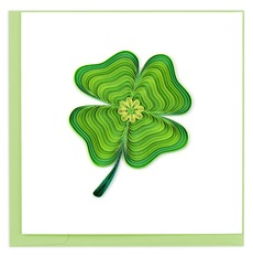 Lucky Clover Quilling Card