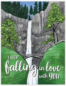 Falling In Love Waterfall