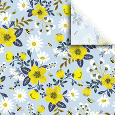 Bumble and Daisy Tissue Paper