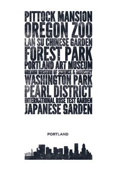Cityprint: Portland