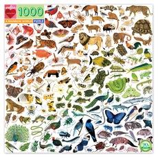 Rainbow World Animal Puzzle - 1000pc