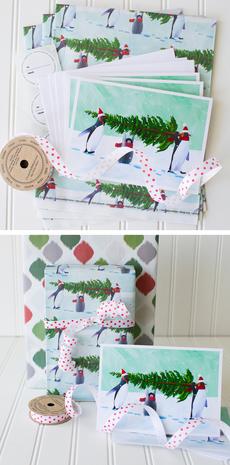 Penguin Tree Complete Wrap Kit