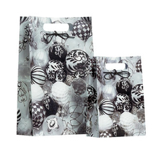 Black and White Bauble Large Bag