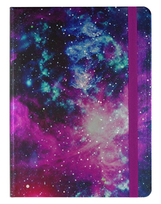 Galaxy Medium Hardcover Journal