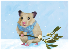 Hamster Mistletoe