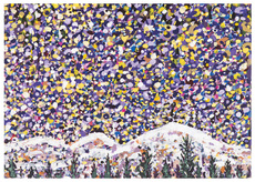 Bright Alaska Snow
