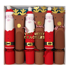 Santa and Reindeer Christmas Crackers