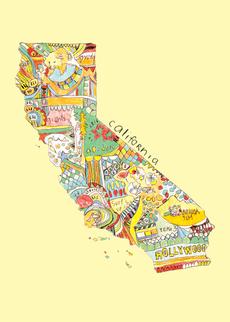 Doodle: California