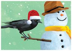 Crow & Snowman