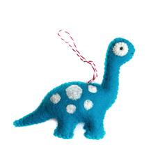 Brachiosaurus Felted Ornament