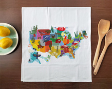 Hello: USA Towel