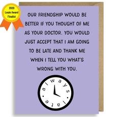 Belated Friendship Card
