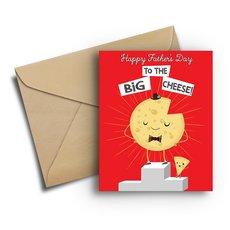 Big Cheese Dad Card