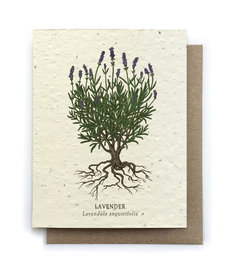 Lavender Plantable Seed Card