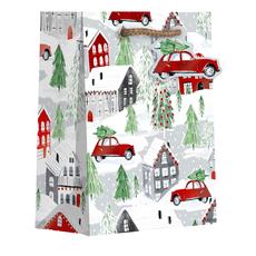 Christmas Town Small Gift Bag