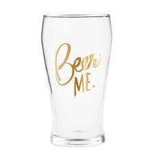 Beer Me Pilsner Glass
