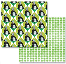 Panda Reversible Eco-Wrap